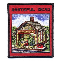 Grateful Dead Terrapin Station LP Cover Patch