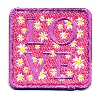 Pink Love & Daisies Patch
