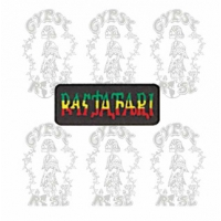 RASTAFARI RASTA PATCH
