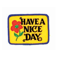HAVE A NICE DAY FLOWER PATCH