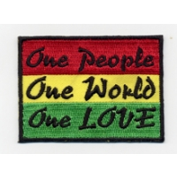 1 PEOPLE 1 WORLD 1 LOVE PATCH