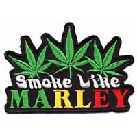SMOKE LIKE MARLEY PATCH