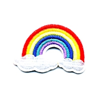 SMALL RAINBOW CLOUD PATCH