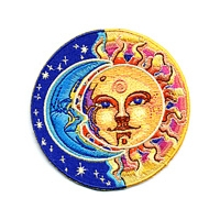 MOON SUN NIGHT DAY PATCH