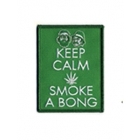 Cheech and Chong Keep Calm Patch