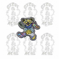 GRATEFUL DEAD PSYCHEDELIC DANCING BEAR PATCH