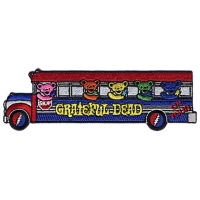 GRATEFUL DEAD DANCING BEARS ON TOUR BUS PATCH