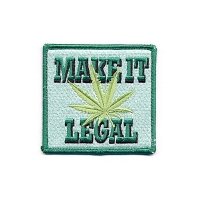 MAKE IT LEGAL LEAF PATCH