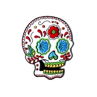 SUNNY BUICK CANDY SUGAR SKULL PATCH