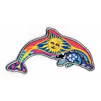 Dolphin Sun\Moon Patch