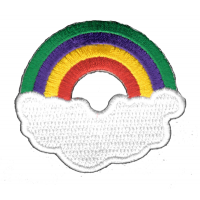 Rainbow With Cloud Patch