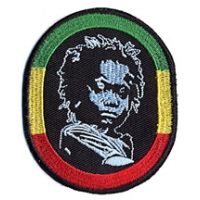 RASTA CHILD OVAL PATCH