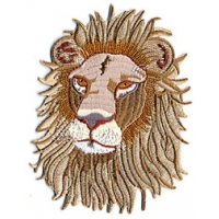 SMALL LION HEAD PATCH