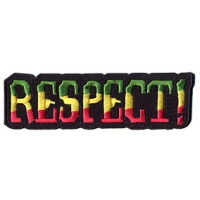 RESPECT RASTA PATCH