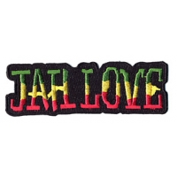 JAH LOVE RASTA PATCH