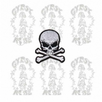 SKULL & CROSSBONES PATCH