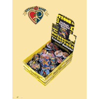 Grateful Dead 130 Pc Dan Morris Assorted Button Display