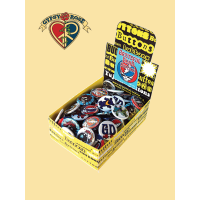 Grateful Dead 130 Pc Assorted Button