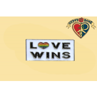 Love Wins Lapel Pin