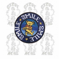 GRATEFUL DEAD SMILE SMILE SMILE DANCING BEAR PATCH