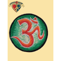 ROUND HIGHLIGHTED OM PATCH