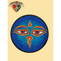 BUDDHA EYES COLORFUL PATCH