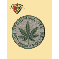 DECRIMINALIZE NOT MONOPOLIZE HEMP PATCH