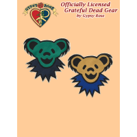 Grateful Dead Dancing Bear Face Fleece Applique