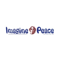IMAGINE PEACE - JOHN LENNON BUMPER STICKER