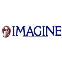 JOHN LENNON IMAGINE BUMPER STICKER