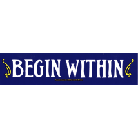 Begin Within Sticker