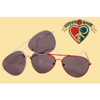 COLOR FRAME AVIATOR GLASSES