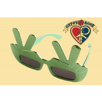 Peace Hand Gesture Sunglasses