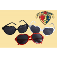 Summer of Love Heart Sunglasses