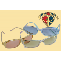 Clear Acrylic Frames With Asst Colored Lens Sunglasses