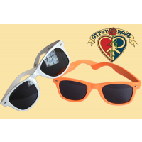 Red Or White Acrylic Frame Sunglasses
