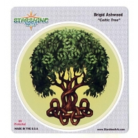 Celtic Tree Brigid Ashwood Sticker