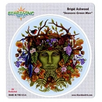 Greenman Brigid Ashwood Sticker
