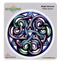 Celtic Grace Brigid Ashwood Sticker