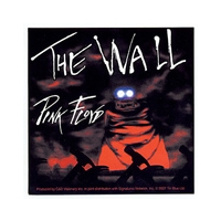PINK FLOYD THE WALL RED MONSTER STICKER