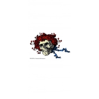 GRATEFUL DEAD SKULL & ROSES STICKER