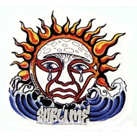 SUBLIME WEEPING SUN WAVES STICKER