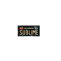 CA SUBLIME STICKER
