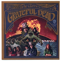 THE GRATEFUL DEAD SELF-TITLED DEBUT ALBUM COVER STICKER