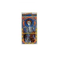 STICKER- GRATEFUL DEAD SKULL & ROSES BERTHA ALBUM ART STICKER