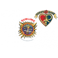 SUBLIME SUN RUB-ON STICKER