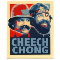 CHEECH & CHONG RETRO STICKER