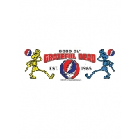 Good Ol' Skellys Grateful Dead Est 1965 Steal Your Face Sticker