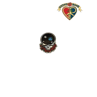 Grateful Dead Metal Steal Your Face Sticker