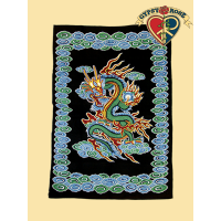 DRAGON TWIN TAPESTRY - BEDSPREAD